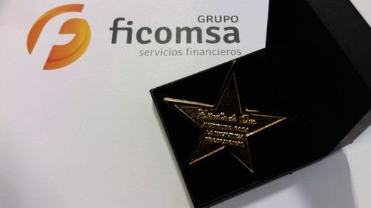 ficomsa ha sido galardonada con la estrella de oro - ficomsa